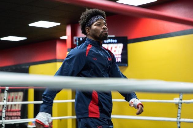 Shawn Porter Media Workout_04_22_2017_Training camp_Ryan Greene _ Premier Boxing Champions
