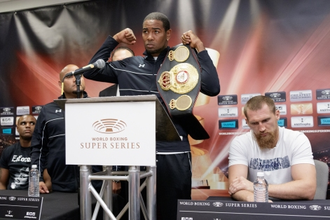 Dorticos vs Kudryashov Press conference