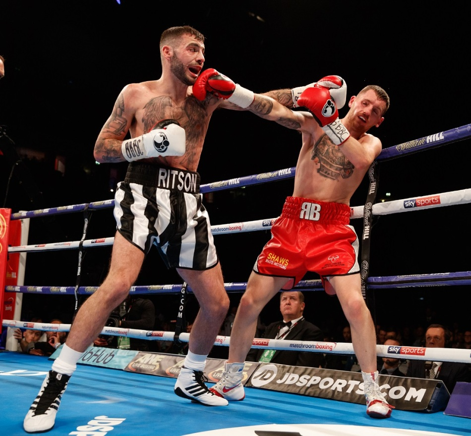 RITSON SIGNS PROMOTIONAL DEAL WITH MATCHROOM BOXING
