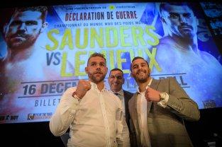 Conférence de presse - Saunders vs Lemieux - Taverne 1909 Moderne