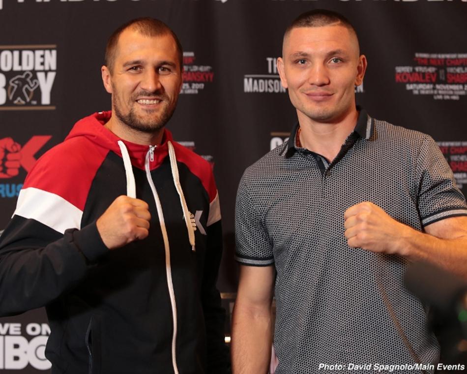 Kovalev vs Shabranskyy Press Conference