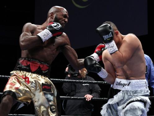 Nov. 18, 2017, Las Vegas,Nevada --- Fight night - Cosmo, Mayweather Promotions - --- CHRIS FARINA - Mayweather Promotions