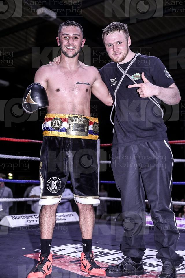Kieran and Danny with title