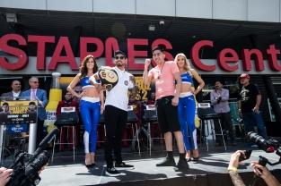 Santa Cruz vs Mares Press Conference Staples Center_10