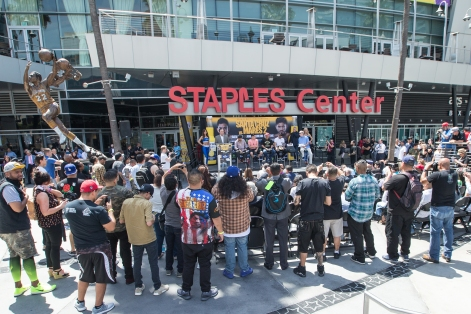 Santa Cruz vs Mares Press Conference Staples Center_13