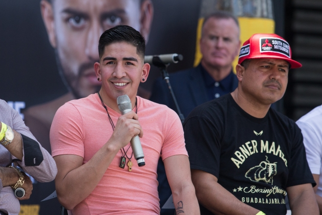 Santa Cruz vs Mares Press Conference Staples Center_24