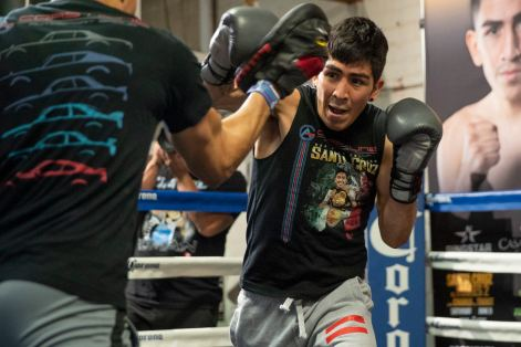 Leo Santa Cruz Workout