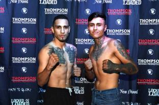 Manuel Mendez, 136.5 lbs. vs. Gilberto Mendoza, 135.6 lbs.