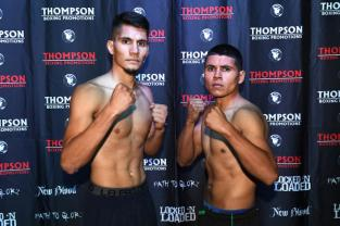 George Acosta, 134.9 lbs. vs. Alberto Castillo, 130.7 lbs.