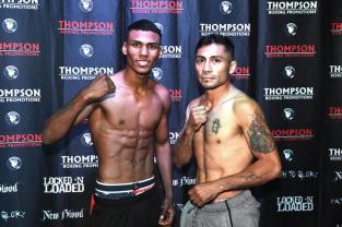 Brandon Valdes, 122 lbs. vs. Jose Fabian Naranjo, 122.4 lbs.