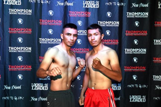 Isaac Zarate, 122.7 lbs. vs. Ramiro Robles, 121.7 lbs