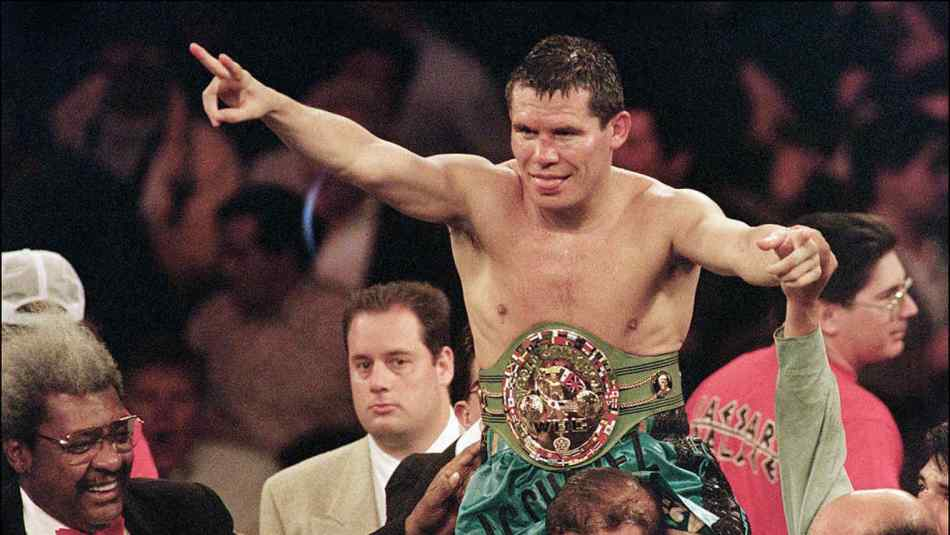 WBC super lightweight champion Julio Cesar Chavez