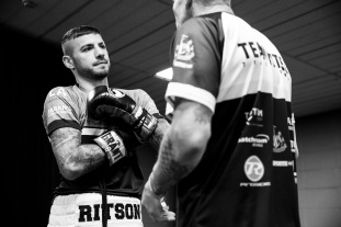 Newcastle Boxing @ Metro Radio Arena . 16th June 2018. Picture By Mark Robinson. British Lightweight Championship LEWIS RITSON v PAUL HYLAND